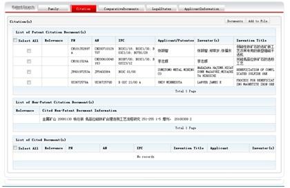 Citation data for a CN document.