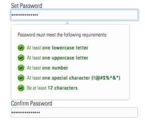 PAAS Password Set-up
